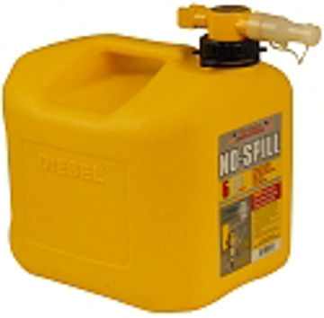 Picture of 5 Gallon No Spill Diesel Fuel Can