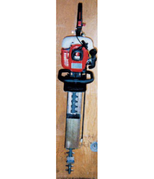 Picture of TRIMMERTRAP HEDGE TRIMMER RACK FOR ENCLOSED TRAILERS