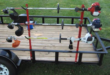 Picture of 3TR Jungle Jim Trimmer Rack - Holds 3