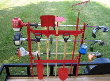 Picture of Jungle Jim OPTIONAL Tool Rack for Trimmer Racks