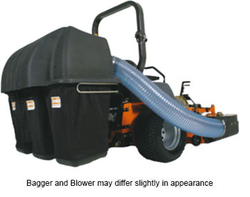 Picture of Husqvarna Commercial Zero Turn Bagging System