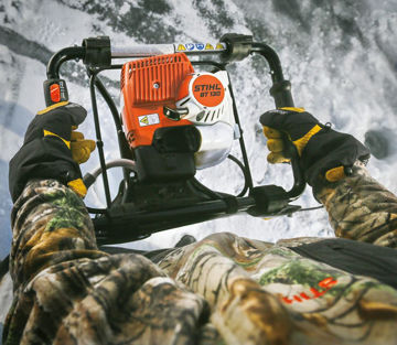 Picture of Stihl BT131 Boring Gear with Engine