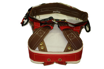 "Picture of B1AB0801033M Wide Back Saddle 2"" Leg Straps 4 Dee Extra"