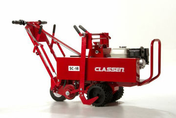 "Picture of SC-18/5.5HP 18"" Classen Sod Cutter with 5.5hp Honda GX160 engine"