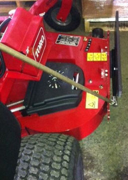 Picture of BB-1-WB-4 Blade Blocker for Walk Behind Mowers ONLY