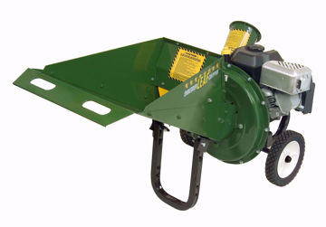"Picture of LSC1100 Mighty Mac ""Lay Down"" Leaf Shredder Chipper"