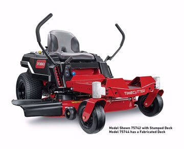 "Picture of 75746 Toro Timecutter with 42"" Fabricated Deck"