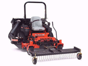 "Picture of FREE SHIPPING! 470-60HD JRCO 60"" Heavy Duty Tine Rake Dethatcher with Mount Bar"