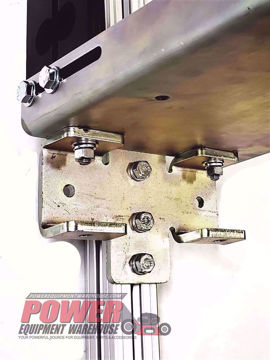 Gridiron bracket, chainsaw post bracket, trailer storage