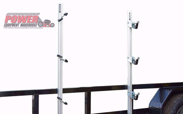 Gridiron trailer racks, trimmer trailer rack, trailer storage